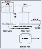 分割されたCore Current Transformer 333mv