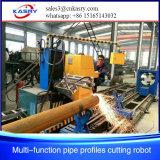 CNC van de Pijp van de Buis van de Machines van het Metaal van het plasma de Vierkante Scherpe Machine van het Profiel van de Pijp voor de Projecten van het Staal