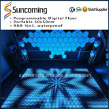 P62.5 Video Slim en Portable White LED Dance Floor