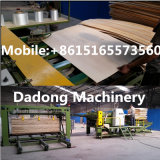Panneau de meubles faisant le contre-plaqué de travail du bois de machine plaquer les machines de jointure