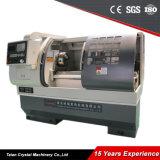 Preço econômico horizontal Ck6140A da máquina do torno do CNC da base lisa