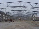 Taller respetuoso del medio ambiente del almacén de la estructura de acero/casa prefabricada
