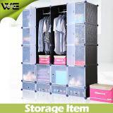 De modieuze Kast van de Garderobe van de Materiële Opslag van pp Plastic milieuvriendelijke