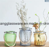 中国のガラスつぼはよい販売のホームまたはホテルのレストランで飾る