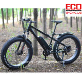 Fetter Gummireifen-elektrisches Fahrrad mit Lithium-Batterie