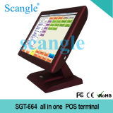 "Scangle Hot 15 ""All in One Touch Sistema de POS Tela"