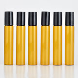 10ml svuotano il rullo sulle bottiglie di vetro per l'imballaggio cosmetico dell'olio essenziale