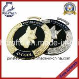 La medaglia di sport della fabbrica Custom3d, fornisce il disegno libero dell'illustrazione