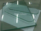 vidro temperado de vidro transparente Tempered desobstruído liso das estufas de 4mm