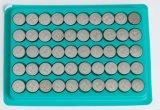 cella della moneta del tasto della batteria Lr44 AG13 della vigilanza 1.5V dalla fabbrica