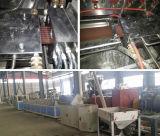 Espulsione di plastica di legno della scheda del PVC che fa macchina (SJSZ80X156)