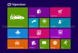 Actualización en línea completa sin hilos de la herramienta de diagnóstico de Vpecker Easydiag WiFi Obdii