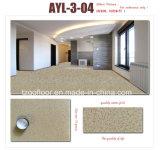 Aparência de mármore piso de vinil 2mm em azulejos pisos laminados de PVC em rolos