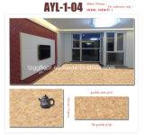 공장 가격 방수 PVC는 마루 대리석 보기를 박판으로 만들었다