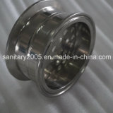 Piatto del filtrante del Tri-Morsetto dell'acciaio inossidabile Ss304 con il foro di 6mm