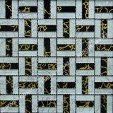 La poudre noire, de tuiles de mosaïque de verre Wall Tile, carrelage en mosaïque de verre