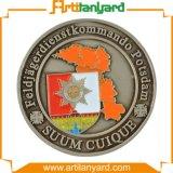 Монетка возможности металла с мягкой эмалью
