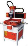 CNC pequeno que anuncia a máquina acrílica Lz-3030 da gravura e de estaca