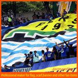 Cheering Football Sport énorme drapeau