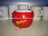 Tazza della sfera rotonda, tazza speciale, tazza di caffè, tazza di caffè di ceramica