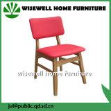 固体灰の椅子(W-DC-06)を食事する木製のホーム家具ファブリック