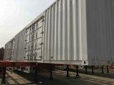 Gooseneck van Chhgc 3axle Bestelwagen/de Semi Aanhangwagen van de Doos