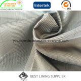 Kleines Check-Polyester-Futter-Gewebe