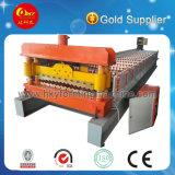 Panneau en acier coloré de tuile et d'acier formant la machine