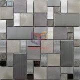 アルミニウム組合せのステンレス鋼および大理石のモザイク(CFM1031)