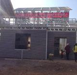 Camere prefabbricate della villa della struttura d'acciaio della prova d'acciaio chiara di terremoto