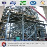 Prefab Sinoacme Alto Edifício Industrial de Estrutura de aço pesadas