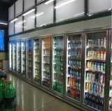Vácuo Glazed Glass Door para quartos de Refrigeration