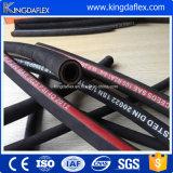 Tubo flessibile di gomma idraulico dell'olio del tubo flessibile del tubo flessibile ad alta pressione flessibile di R12/4sp/4sh