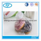 Прозрачные пластичные мешки еды