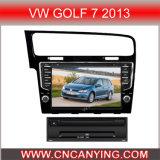 Voiture particulière LECTEUR DVD pour VW Golf 7 2013 avec le GPS Bluetooth. (CY-V018)