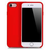 Estojo de borracha original de silicone para telefone móvel para iPhone 7