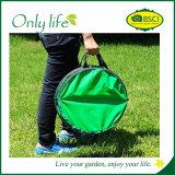 Зеленый цвет Onlylife легк снес хлопает вверх мешок сада неныжный с большой емкостью