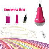 Solar Product 11V 6W Solar Home Light System com cabo USB