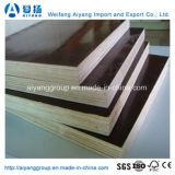 La película impermeable de la venta caliente hizo frente a la madera contrachapada para la construcción