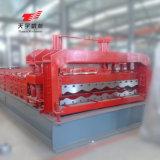 Hoja del perfil del metal del material para techos del trapezoide que hace el rodillo que forma la máquina en China