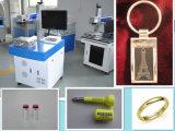 Máquina del laser de la marca de la fibra del grabado del metal y del no metal