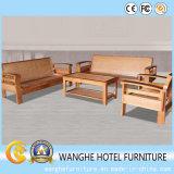 Insieme esterno creativo del tavolino da salotto della mobilia del rattan ed insieme del sofà