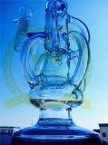 Kleinの再資源業者の卵の管のFabbの装備のHeadshopの管の氷は灰のキャッチャーのクラフトのガラス配水管にノッチを付ける