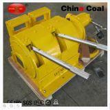 Guincho elétrico à prova de explosões da corda de fio da mineração subterrânea de carvão de China