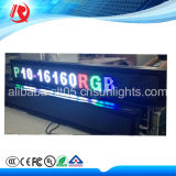2016 Taxi caliente display LED superior al aire libre a todo color P5 P10