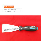 C-31 строительство декор краски оборудование ручной инструмент пластмассовую ручку наружного зеркала заднего вида полированным гибкий нож скребка