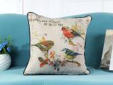 Retro Vogels Afgedrukte Hoofdkussen van het Kussen van het Kussen Digitale Afgedrukte (LCL04-411)