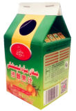 350ml 우유 주스 또는 크림 또는 포도주 또는 요구르트 또는 물 박공 상단 판지 /Box