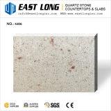 Super quartz gris pierre artificielle pour les comptoirs avec des échantillons gratuits
