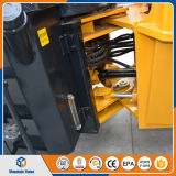 小型ローダーは2トンの車輪のローダーのフロント・エンドローダーの土工の機械装置中国価格を作った
